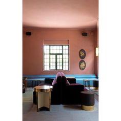 casa Fayette interiors by Dimorestudio - habita hotels, guadalajara Contemporary Interior Design, Luxury Interior Design, Best Interior, Interior Styling, Interior Architecture, Interior And Exterior, Hotel Interiors, Vintage Interiors, Colorful Interiors