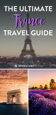 France Travel   Looking for travel tips for France? Check out our ultimate guide featuring the best things to do, what to eat, and incredible places to visit in France. #france #europe