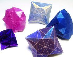 Origami jewels