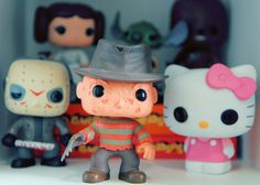 Jason + Freddy + Hello Kitty :D
