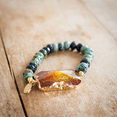 Amber Energy Bracelet