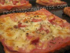 Recetas faciles y rapidas con pan de molde