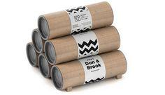 Don & Brook's T-Shirt Tubes Communicate with Modern Hieroglyphs #fashion trendhunter.com