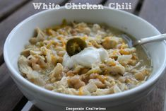 Now that some (slightly) cooler weather has finally hit here in the South, I have been in the mood for soup or chili. My friend, Kari, of  T...