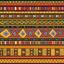 Unique patterns can be found on African textiles and materials. Very cool! Visit www.africanartpieces.com for more on African Art