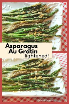 Asparagus Dishes, Asparagus Recipe, Healthy Vegetables, Grilled Vegetables, Veggies, How To Make Asparagus, Low Calorie Sides, Vegetable Sides, Vegetable Recipes