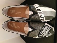 San Antonio Spurs Toms!...girly fan-wear.