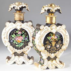 Pair of Jacob Petit Perfume Bottles