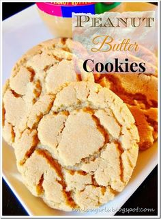 Seriously, You don't have to take my word, you can look at the comments, these are the best peanut butter cookies ever! One of my favorite flavor for cookies is peanut butter! There is a lot of. Jif Peanut Butter Cookies, Peanut Butter Cookie Recipe, Peanut Butter Recipes, Baking Recipes, Cookie Recipes, Dessert Recipes, Fun Recipes, Baking Ideas, Dessert Ideas