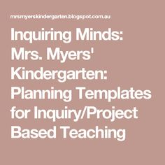 herding kats in kindergarten what can we learn from play play
