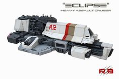 Micro-scale Assault Cruiser  Its still not what i would call small but looks awesome..!