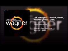 """▶ Das Rheingold : """"Weiche, Wotan, weiche!"""" [Wotan, Erda] - YouTube"""