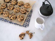 Vegan chocolate chip cherry cookies!