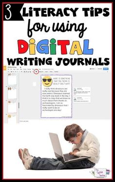 3 Literacy Tips for Using Digital Writing Journals in your Classroom. Writing Resources, Teaching Writing, Teaching Resources, Writing Ideas, Classroom Resources, Classroom Ideas, Literacy Activities, Teaching Ideas, Google Docs