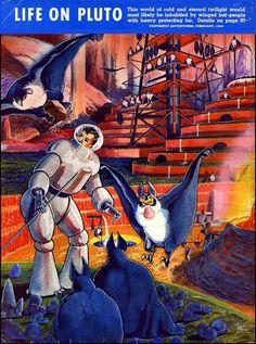 "Rétrofuturisme. ""Life on Pluto"""