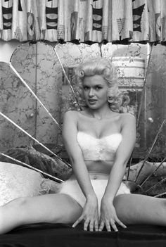 Jayne Mansfield at home