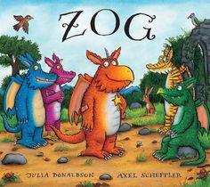 Vår pris 200,-. Møt dragen Zog og prinsesse Perle i denne første boka i Donaldson og Schefflers nye suksess-serie. Det er mange ting en liten drage må lære seg! På drageskolen..