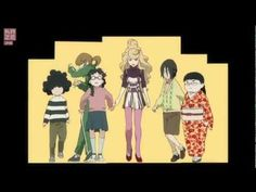 Princess Jellyfish anime - opening - générique - OFFICIEL - YouTube