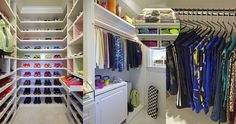 Have A Look Inside Khloe Kardashian's Fitness Closet (Photos) - i would kill for this!! ugh!! <3