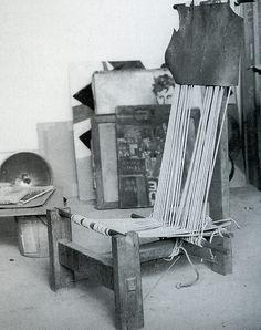 Alexander Calder's chair