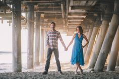 J Wiley Photography Santa Monica Los Angeles Southern California Wedding Photographer Engagement Photos Beach Candid Pier Bicycle-3108