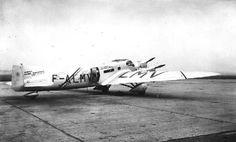 Couzinet 33-01 Ville de Biarritz (1931) (aka demi Arc-en-Ciel) Long distance record plane.