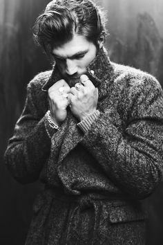 #GiorgioArmani alpaca-and-wool coat
