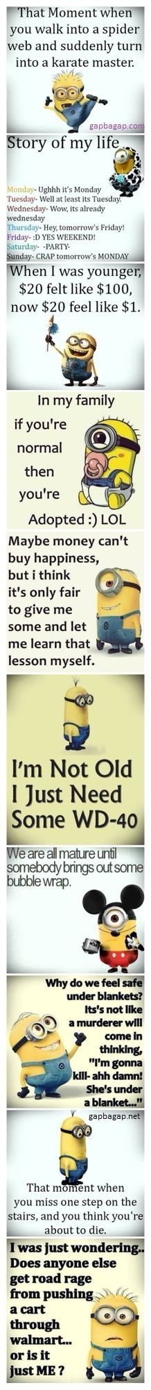 Top 10 #Funny #Quotes By The #Minions