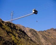 AJ Hackett Nevis Bungy Jump Queenstown New Zealand