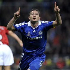 Thank the heavens for England and Chelsea legend Frank Lampard.