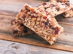 Fruit and Fiber Breakfast Bar from Dr. oz Show