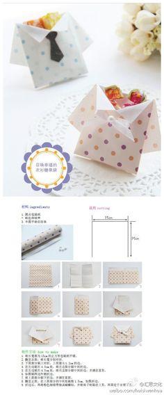 Origami Shirt Envelope