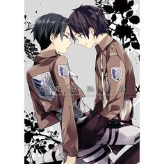 Attack on Titan Levi Rivaille x Eren Jaeger