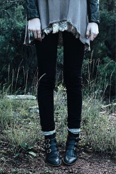 Loved the buckled boots, care free grunge x