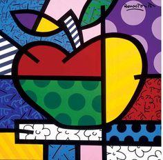 The Apple by Romero Brito