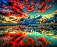 Magnifique réfection 2 entre ciel et terre