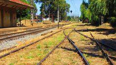 Chile. Antigua Estación Ferroviaria de Collipulli. Foto de Francisco Muñoz Ramirez - 2016.