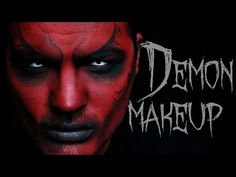 Demon Makeup | Halloween Makeup Tutorial - YouTube