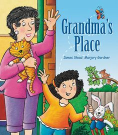'Grandma's Place' - A #ChildrensBook #written by #JamesStead and #illustration by #MarjoryGardner, Grandma's Place is an interactive #picture #book, which encourages children to #explore, and #reflect upon the #special #bond they #share with their #Grandparents.  Find out more about this #book or #purchase it via the link - http://www.windyhollowbooks.com.au/products/grandma-s-place