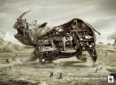 Campaign for WWF by Ogilvy & Mather http://creativepool.com/ogilvy