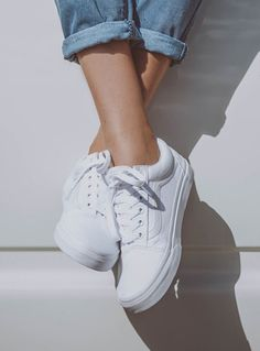 b79ee4aed39 Old Skool II True White Introduced in 1977 the Vans Old Skool sneaker is a  classic in the Vans collection. Full of attitude the Old Skool is durable  and ...