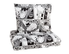 Moomin comic strip duvet covers