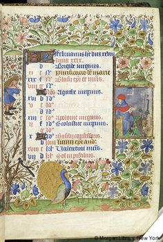 Book of Hours, M.63 fol. 2r - Images from Medieval and Renaissance Manuscripts - The Morgan Library & Museum