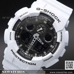 Casio G-Shock Bi-Color Analog Digital 200M Sport Watch GA-100L-7A, GA100L