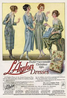 Advertisement for L'Aiglon dresses, (Good Housekeeping December 1920)