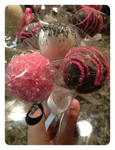 lollicakes/cake pops for sheila t's coworker!