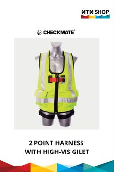Ensure maximum visibility over the harness to give an extra level of safety to wearers, making it an ideal safety harness. Lifting Safety, Environment, Shop, Accessories, Self, Store, Jewelry Accessories