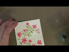 painting with liquid pearls
