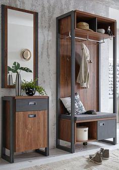 Steel Furniture, Modern Furniture, Home Furniture, Industrial Design Furniture, Furniture Design, Home Room Design, House Design, Garderobe Design, House Rooms