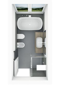 Badplanung mit freistehender Badewanne mit Ablage Bathroom planning with free-standing bathtub with Bathroom With Shower And Bath, Zen Bathroom Decor, Bathroom Plans, Bathroom Design Small, Bathroom Interior Design, Bathroom Renovations, Modern Bathroom, Home Remodeling, Bathroom Ideas